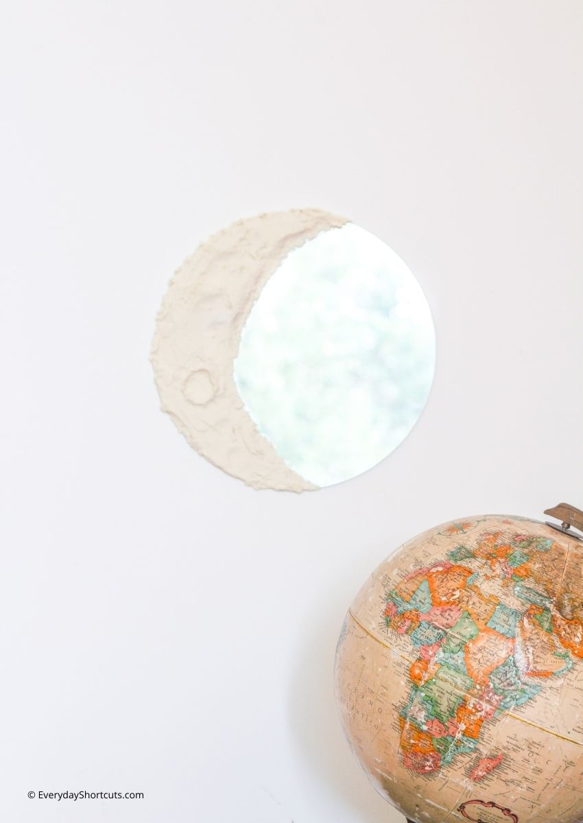 how to make a moon mirror