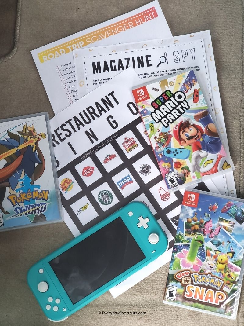 Best Games to Play on a Road Trip