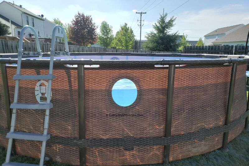 How to Install a Coleman Power Steel Swim Vista Series II Pool