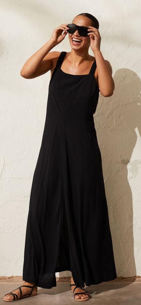 H&M Open Back Dress Image