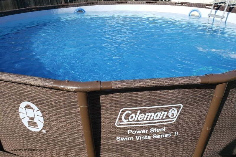 Coleman Power Steel Swim Vista Series II Pool