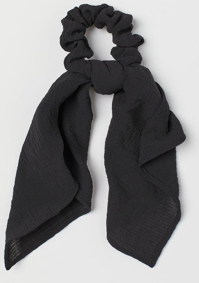 H&M Scarf Detail Scrunchie Image