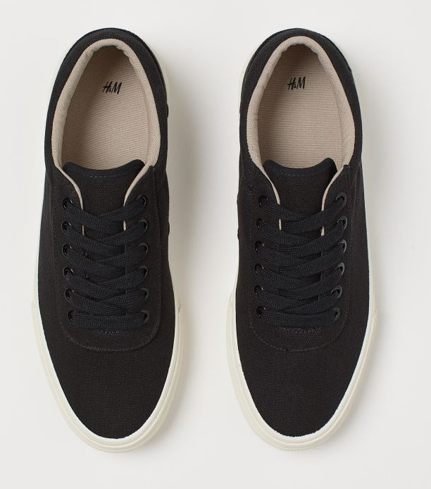 H&M Canvas Sneakers Image