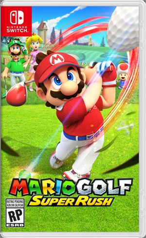 Nintendo Switch Mario Golf: Super Rush Image