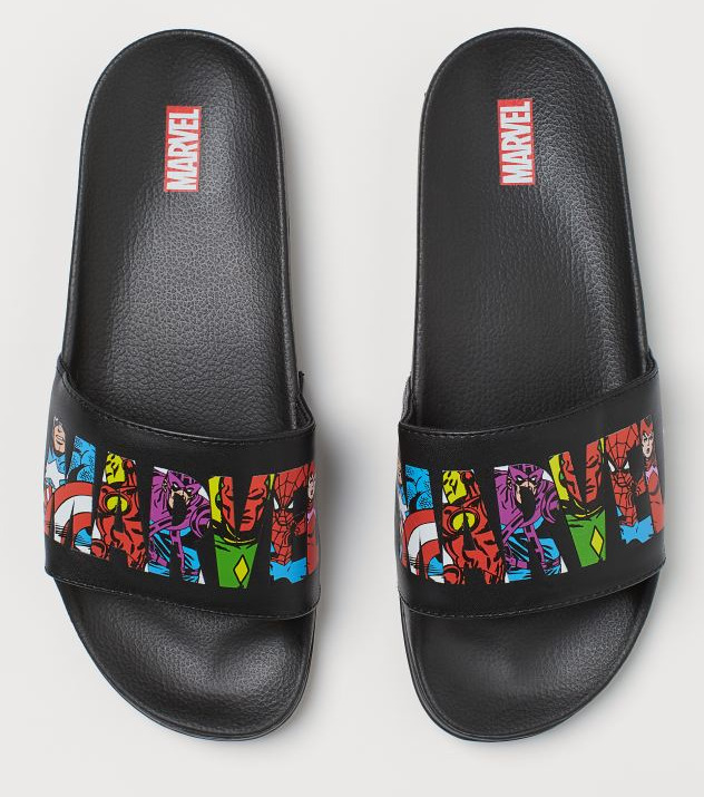 H&M Marvel Pool Shoes Image