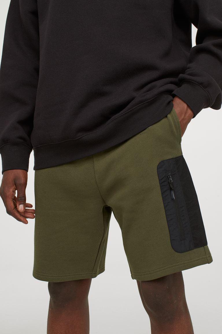 H&M Regular Fit Sweat Shorts Image