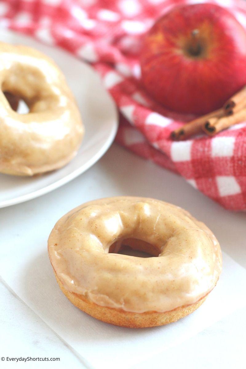 Apple Cinnamon Baked Donuts Gluten Free