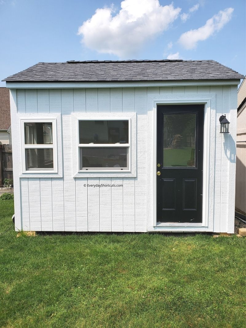 Step by Step How to Build a She Shed