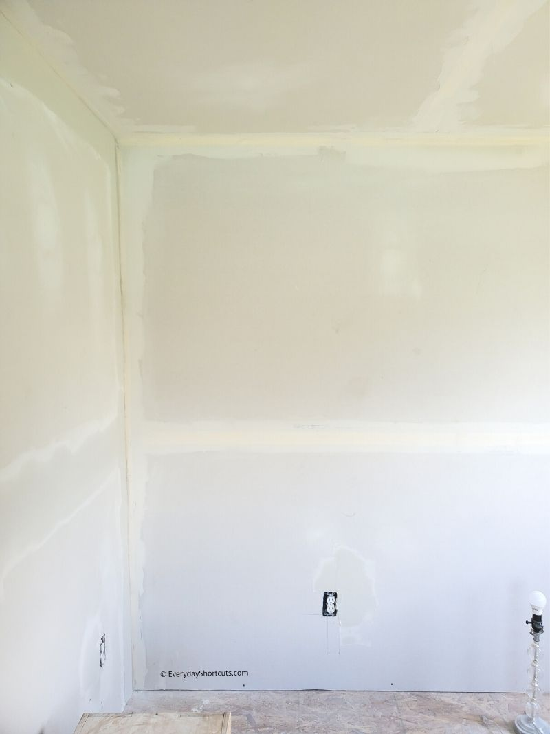 how to drywall a she shed