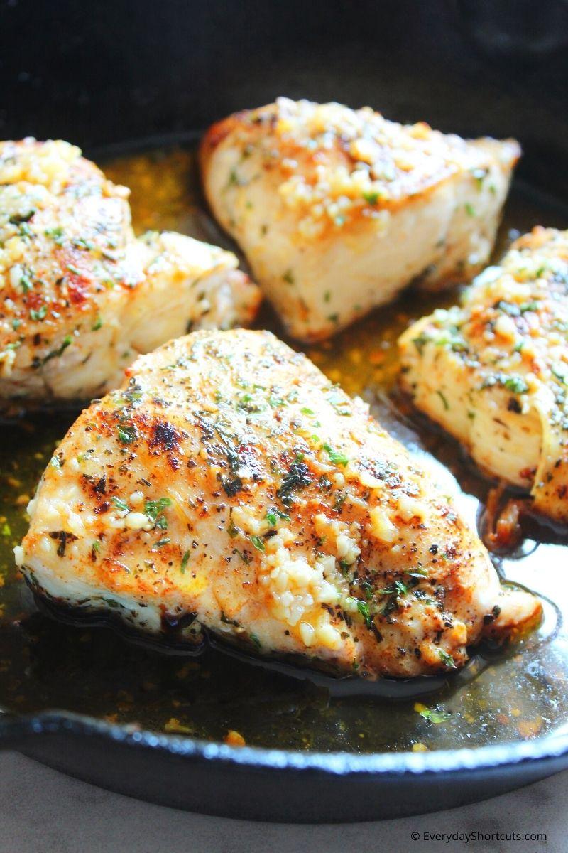 how to make Garlic Butter Skillet Chicken