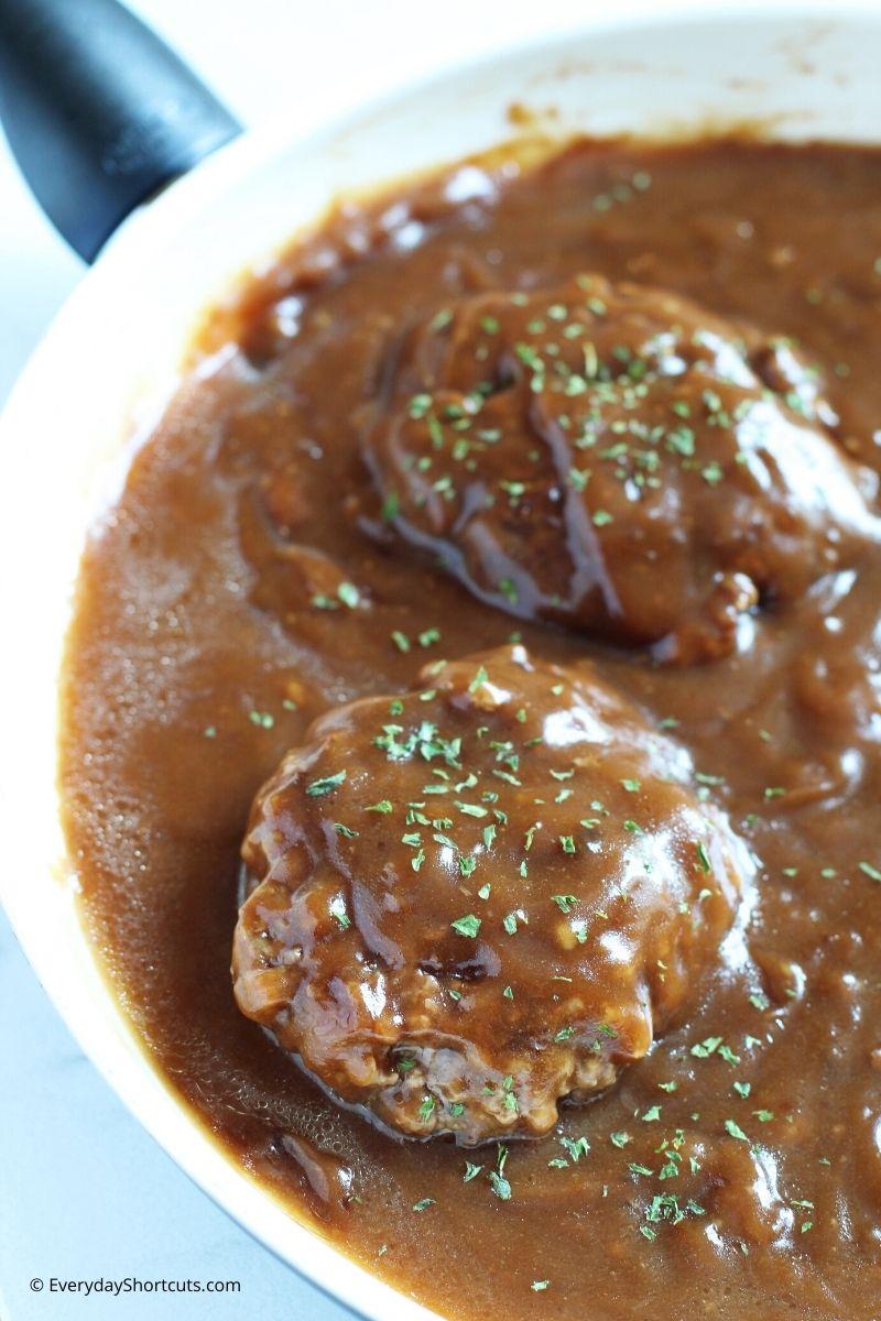 How to Make Gluten Free Salisbury Steak