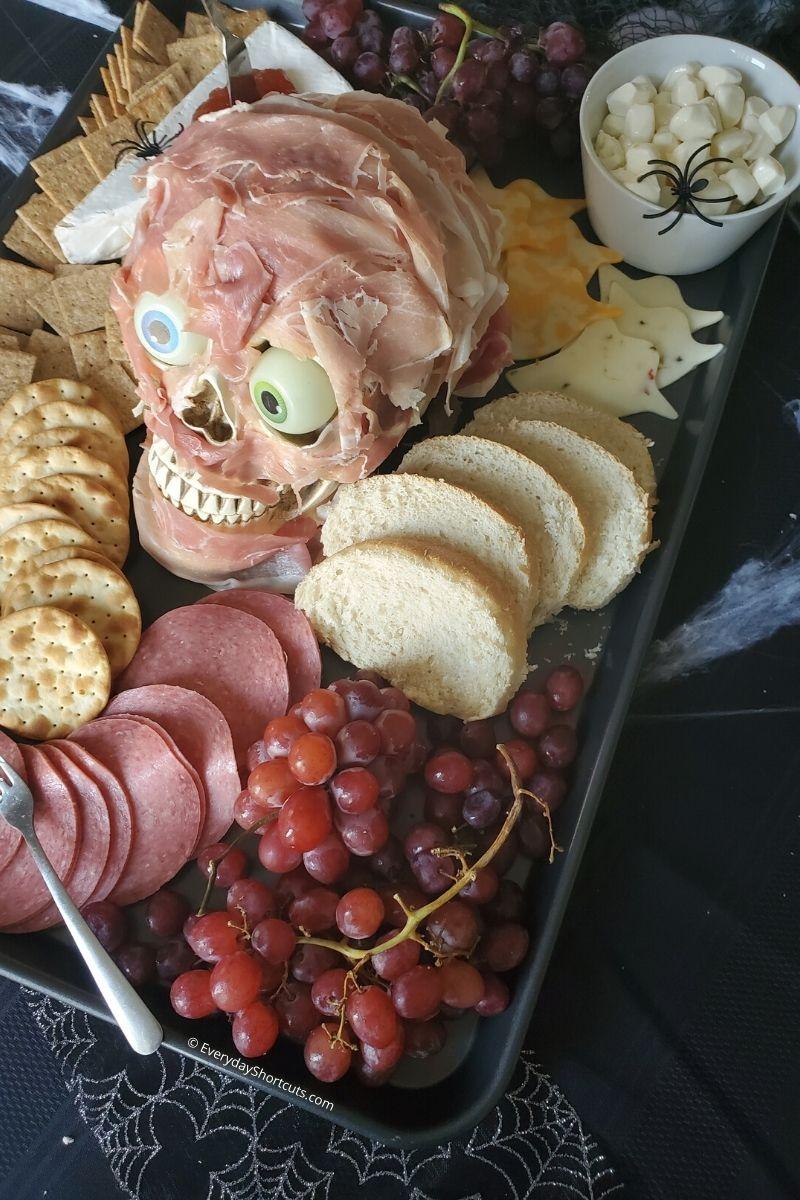 Spooky Charcuterie Board