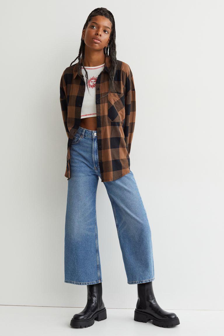 H&M Wide Cut Shirt Image