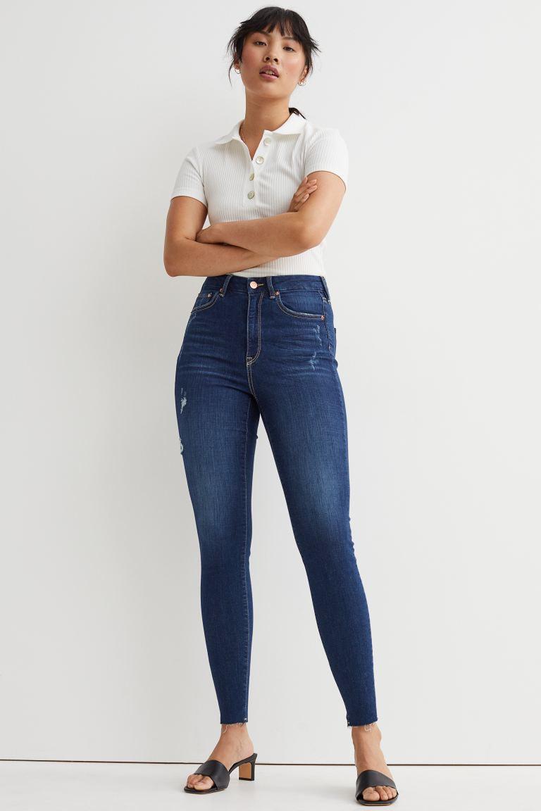 H&M Curvy Fit Embrace Skinny Jeans Image