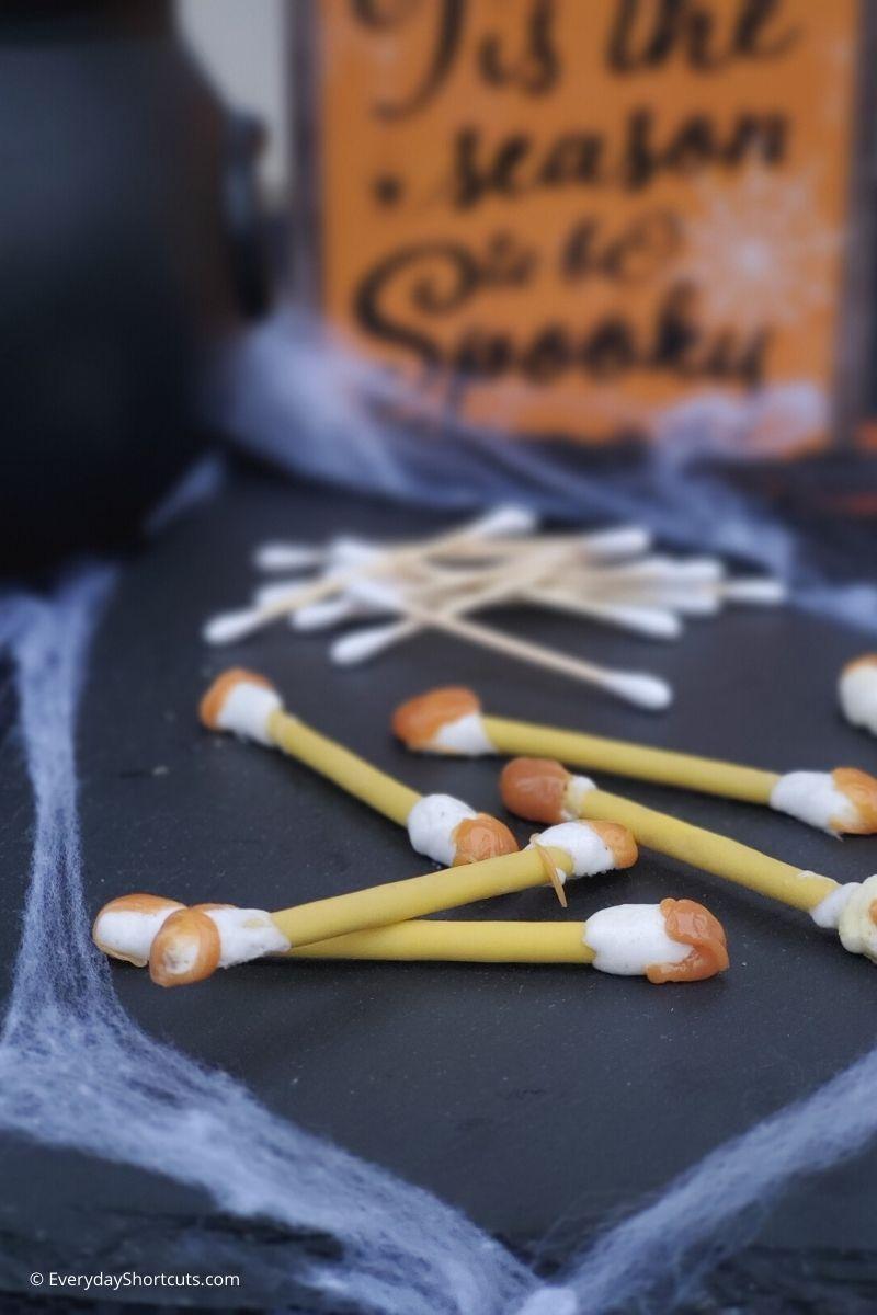 dirty q tips Halloween treats