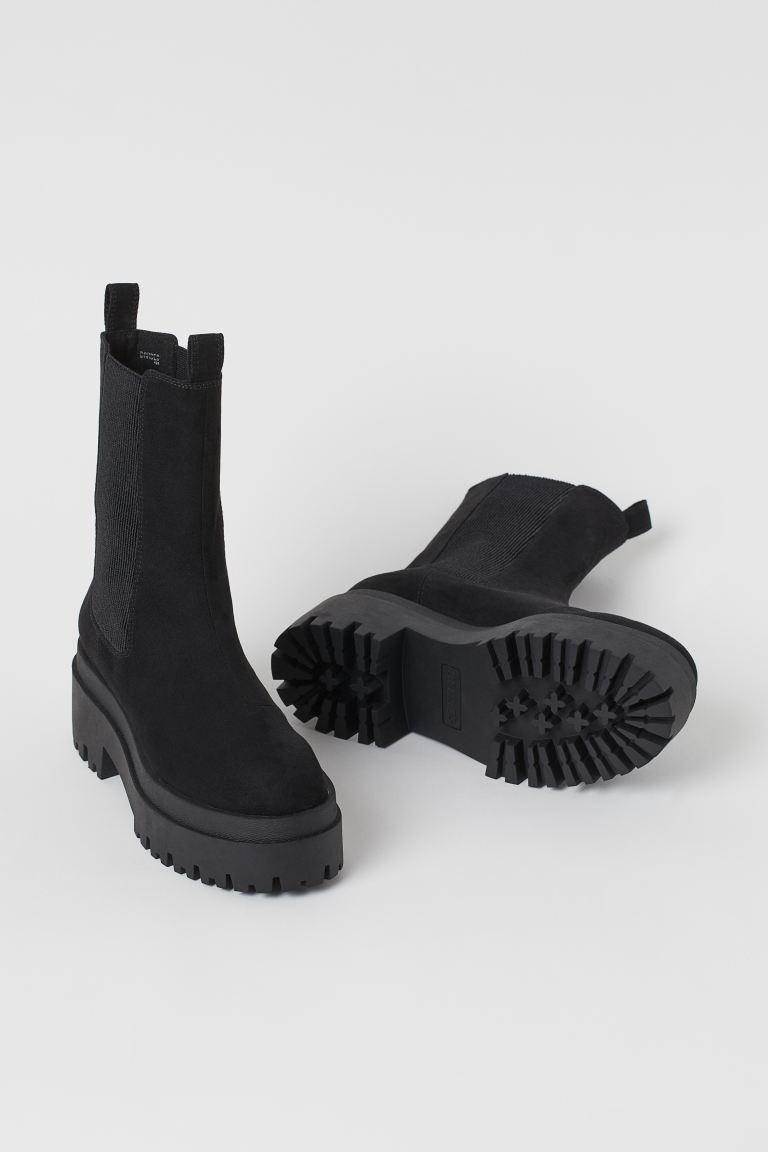 H&M Platform Chelsea-Style Boots Image