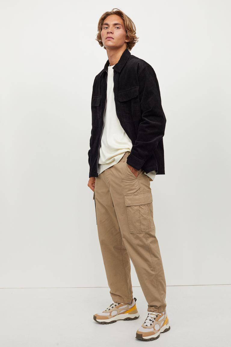 H&M Regular Fit Cargo Pants Image