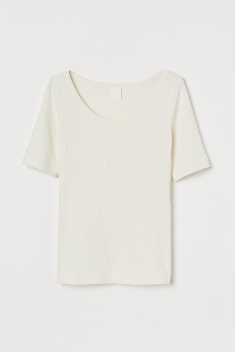 Ribbed T-Shirt Image