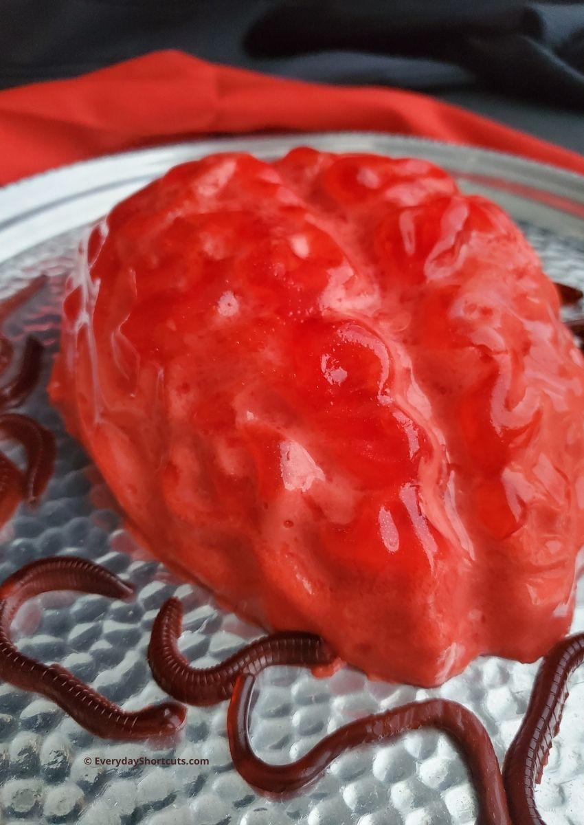 Halloween Jello Brain