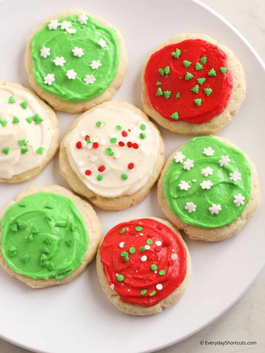 Gluten Free Lofthouse Style Frosted Sugar Cookies