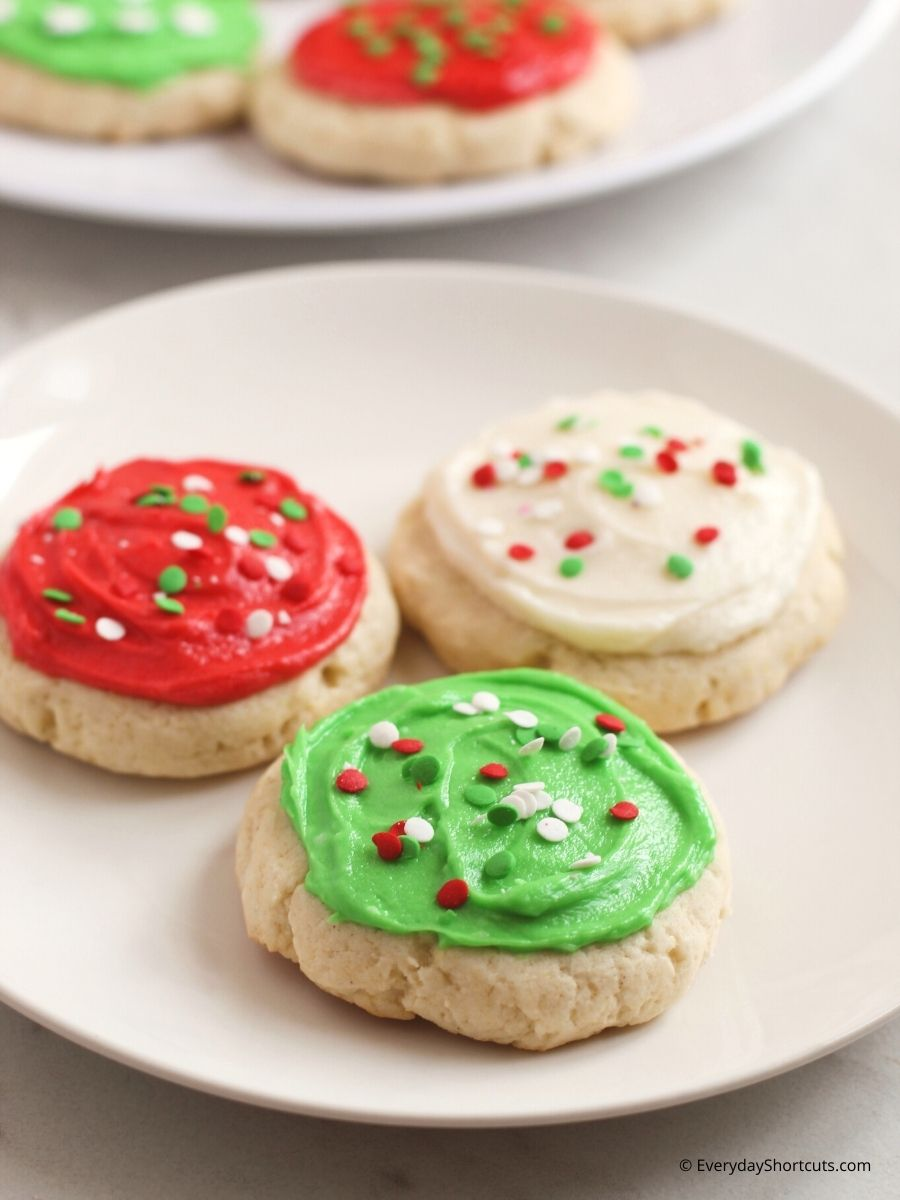 How to Make Gluten Free Lofthouse Style Frosted Sugar Cookies