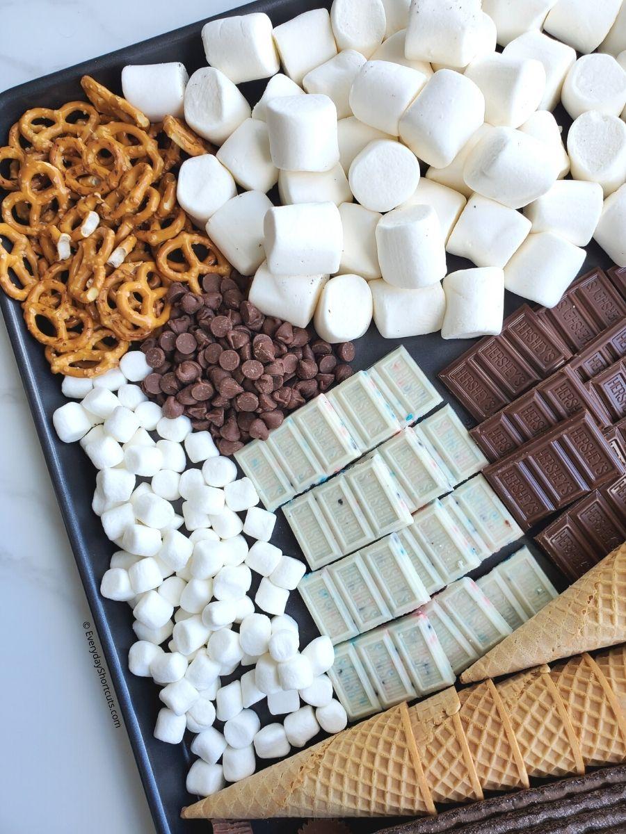 Smores Dessert Charcuterie Board