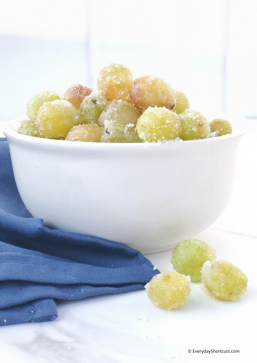 Cotton Candy Drunken Grapes