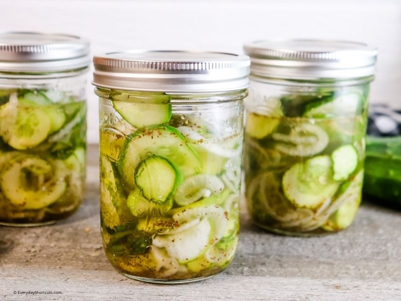 Refrigerator Pickles Recipe with No Canning Equipment