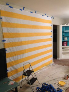Painting Curtains :: EverydaySmallThings.com