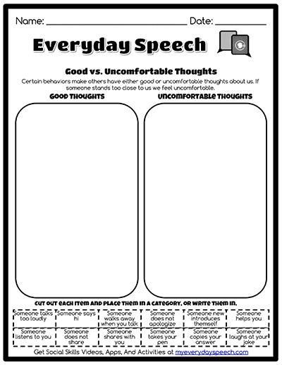 Speech Therapy Worksheet Creator