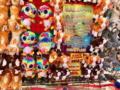 image of darts at the Spokane fair