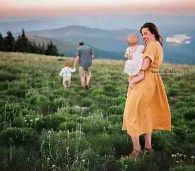Beautiful family photo from Theresa Burkhart Photography