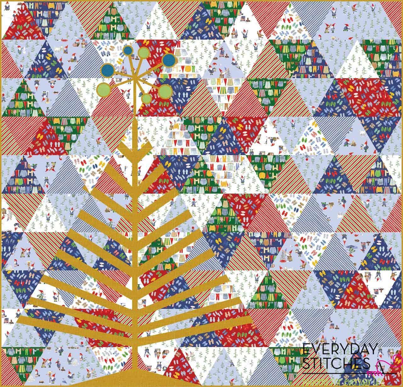 Vintage Holiday - Tinsel Tree