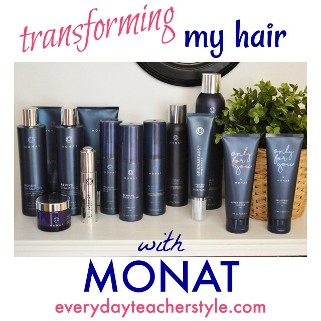transforming my hair with monat