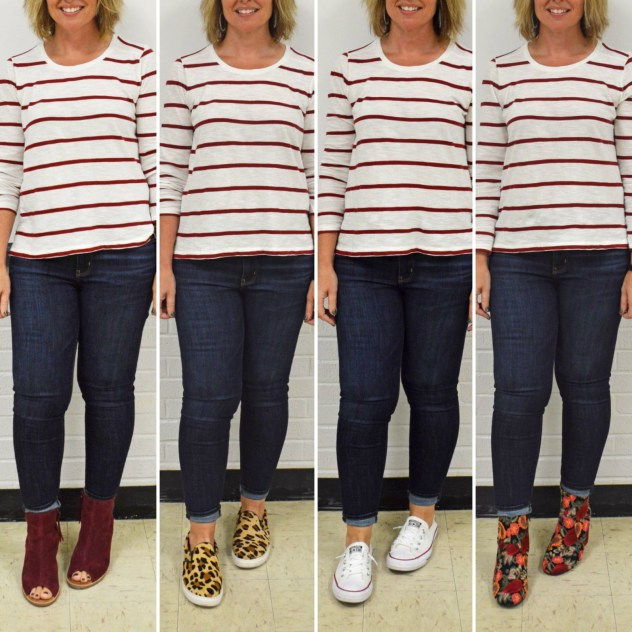one outfit 4 ways