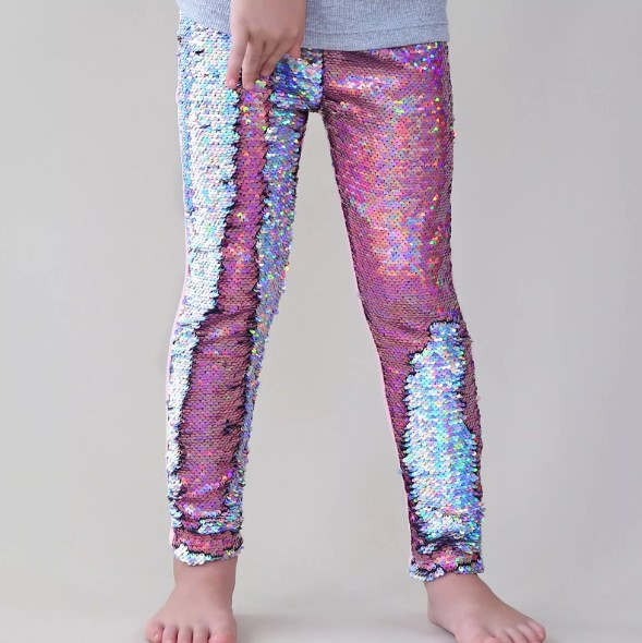 Sequined Mermaid Leggings