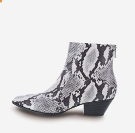Payless Snake Print Boot