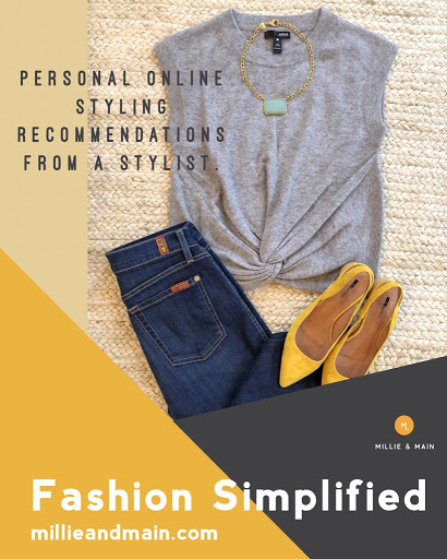 Online Personal Styling Millie & Main