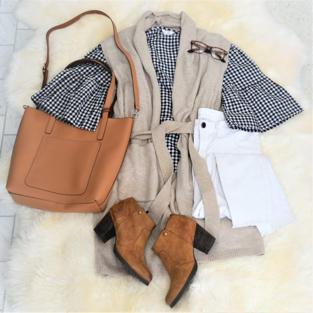 Winter transition outfit ideas featuring Walmart Time and Tru