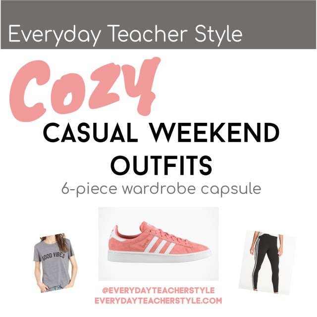 Everyday Teacher Style Cozy Casual Weekend Outfit Ideas