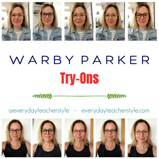 Warby Parker Try-On
