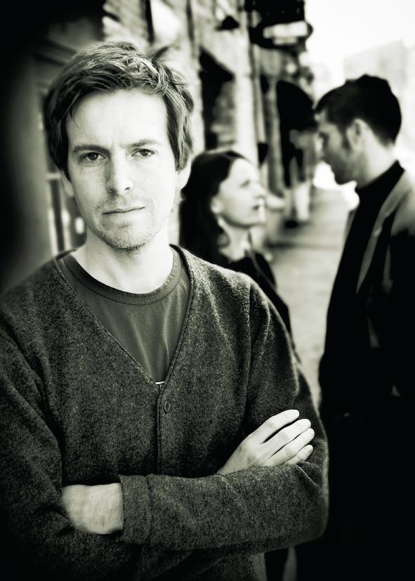 Mattias Hagberg, journalist resident in Sweden's second city Gothenburg, author of Skräp