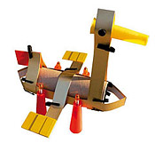 Upcycled duck, you can buy these as kits