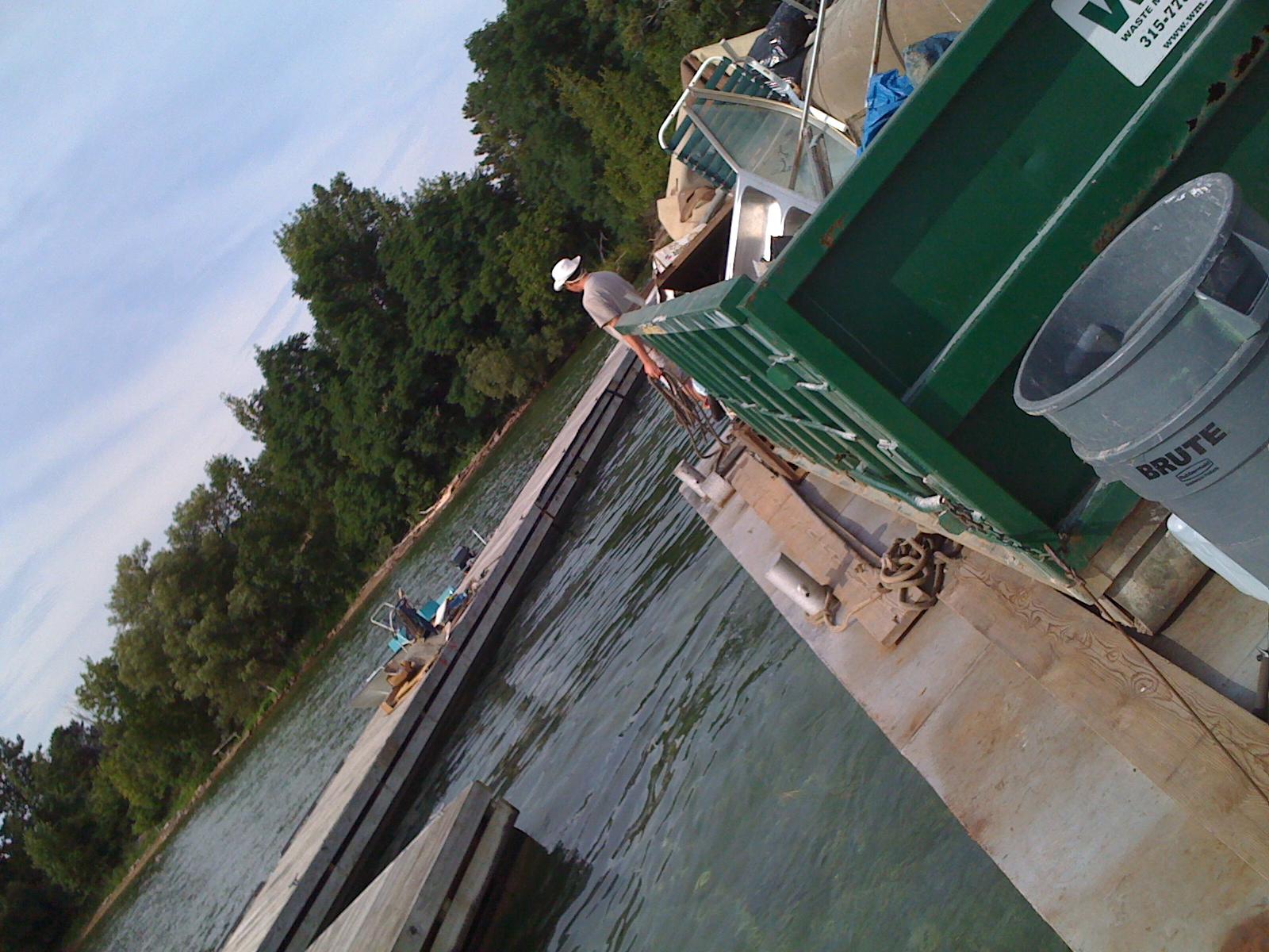 River rat barge