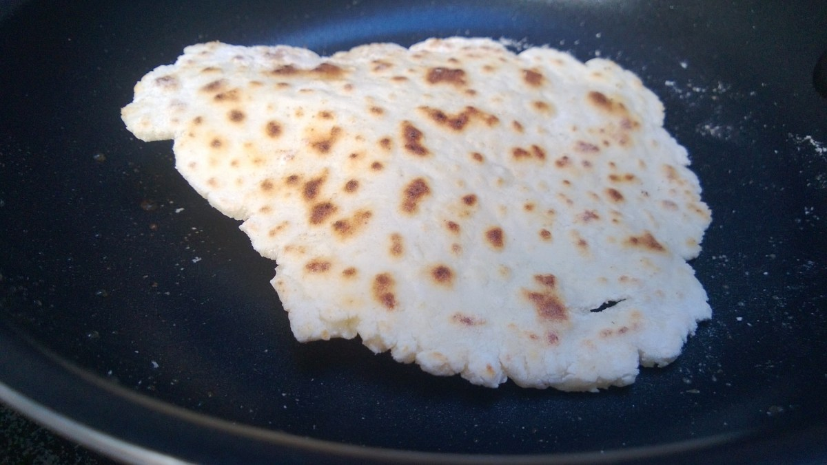 Gluten Free Tortillas Made from Potatoes