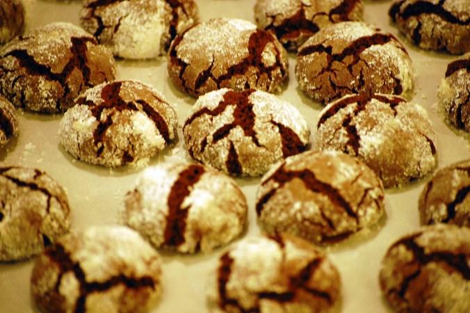 Vegan Chocolate Crinkles (cookies) Recipe