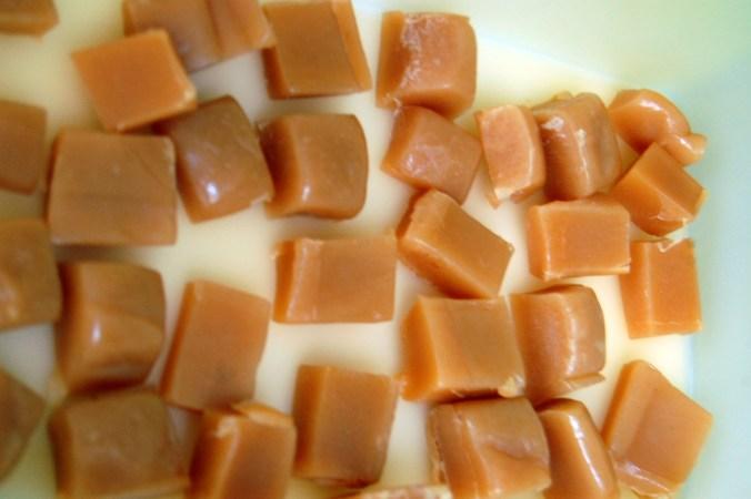 Vegan Salted Caramels