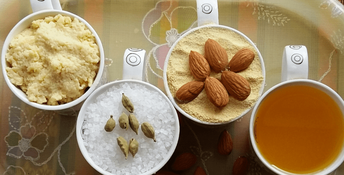 Besan Burfi Ingredients