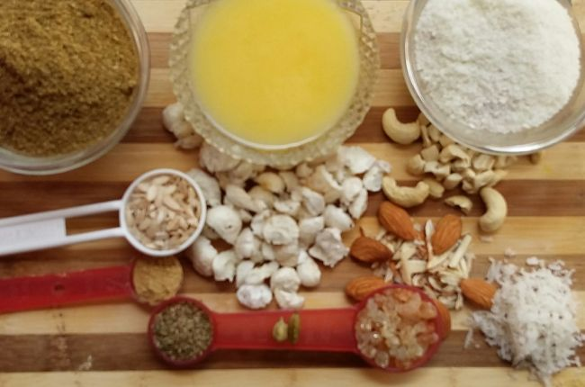 Dhaniya Ki Panjiri Ingredients