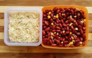 Rice and Rajma